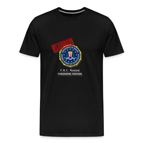 F B I - T-shirt Premium Homme