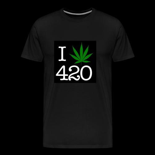 WEED 420 MERCH - Men's Premium T-Shirt