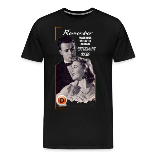 vintage advice - Men's Premium T-Shirt