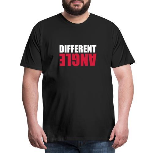 Different Angle - Miesten premium t-paita