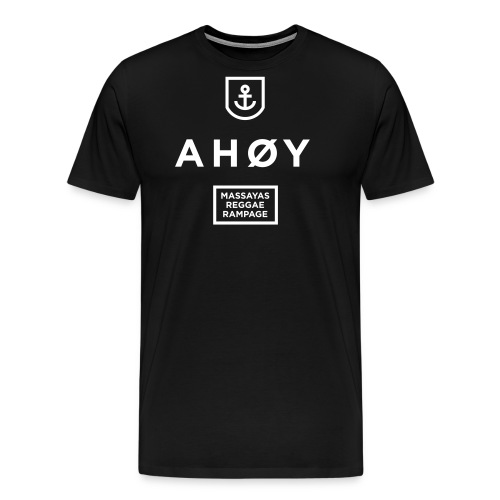 Ahoy_Logo - Männer Premium T-Shirt