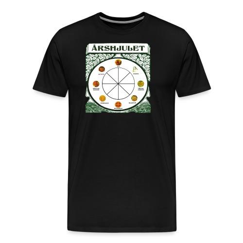 Årshjulet - Premium-T-shirt herr