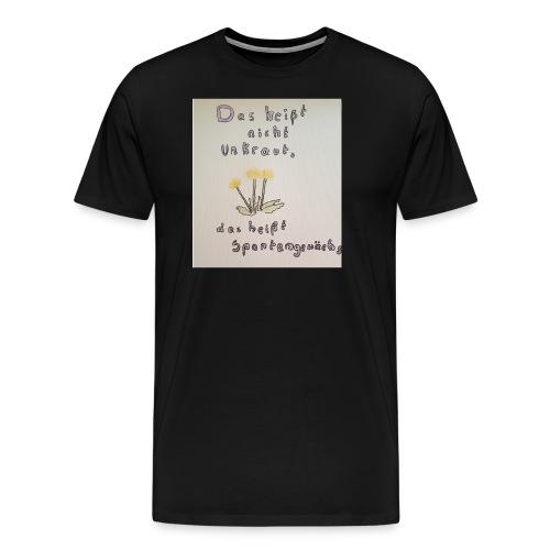 spontangewaechs - Männer Premium T-Shirt