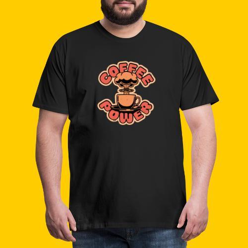 Coffee power - Premium-T-shirt herr