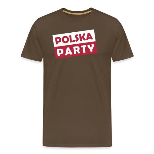 Polska Party / Die Party-Geschenkidee - Männer Premium T-Shirt