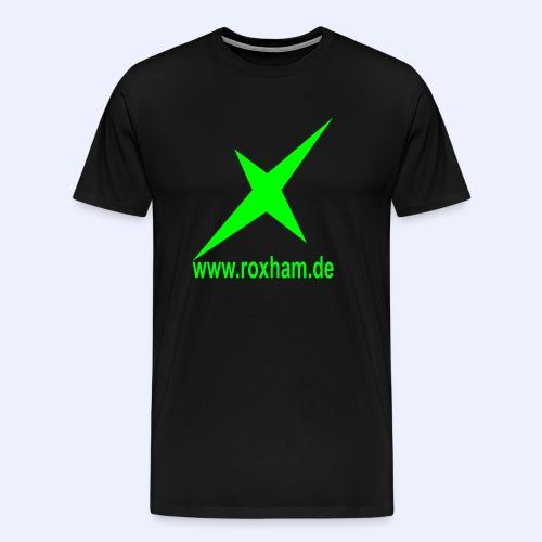 RoxHam X (nur Vorne) - Männer Premium T-Shirt