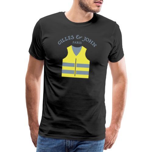 Gilles & John - Paris - T-shirt Premium Homme