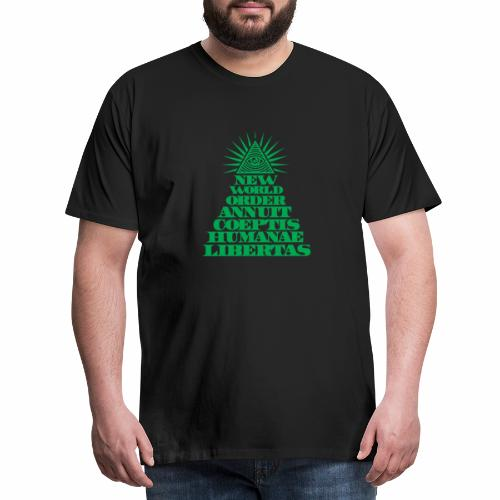 New world order - Männer Premium T-Shirt