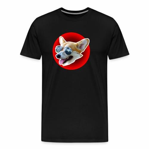 Cool Corgi - T-shirt Premium Homme