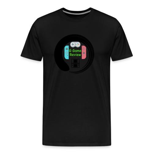 G Game Review Logo - Men's Premium T-Shirt