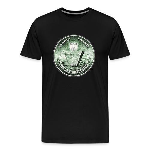 humane opt png - Premium-T-shirt herr