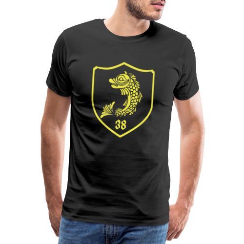 grenoble, dauphin blason 38 - T-shirt Premium Homme