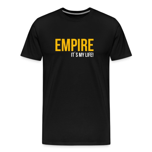 empire gold png - Männer Premium T-Shirt