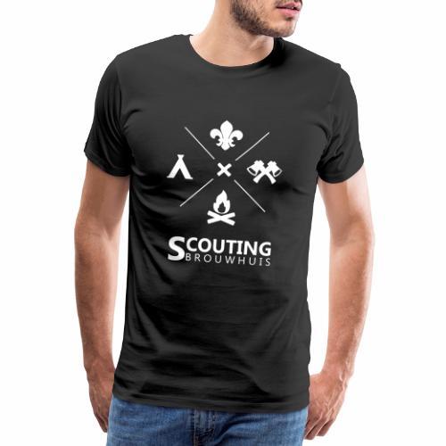 Scouting Brouwhuis - Mannen Premium T-shirt