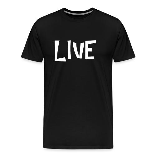 LIVE - T-shirt Premium Homme