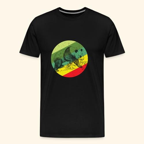 Chinese Panda Retro - Men's Premium T-Shirt