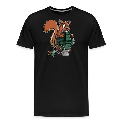 Eichhörnchen Granate - Männer Premium T-Shirt