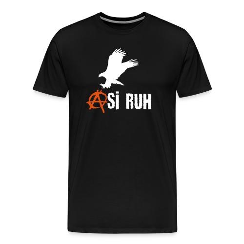 Asi Ruh Kartal - Männer Premium T-Shirt