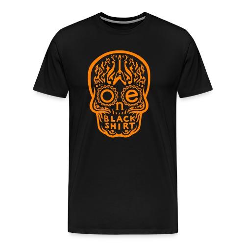 OBS_Skull_orng - Männer Premium T-Shirt
