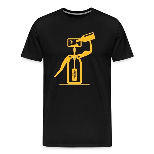 CAVATAPPI UBRIACO - Drunk corkscrew - Maglietta Premium da uomo