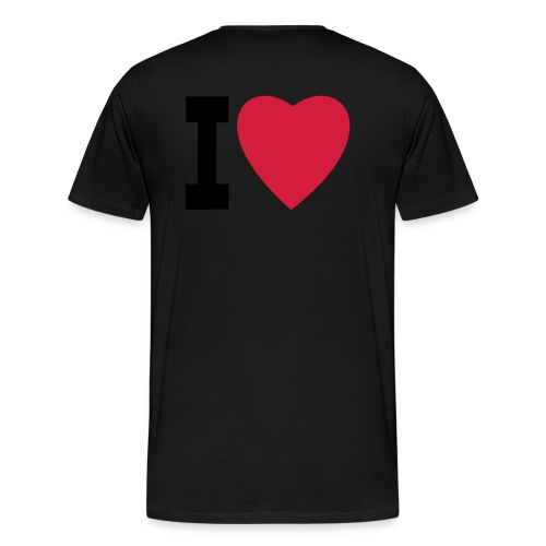 create your own I LOVE clothing and stuff - Men's Premium T-Shirt