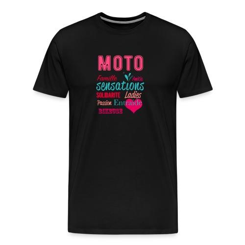 Motarde tee-Shirt - T-shirt Premium Homme