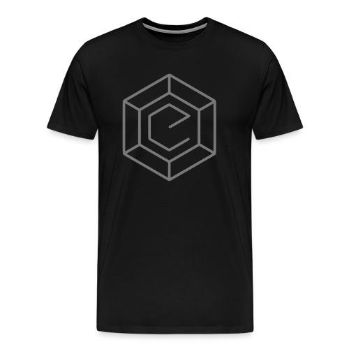 Electro Dance Mixes Logo - Männer Premium T-Shirt