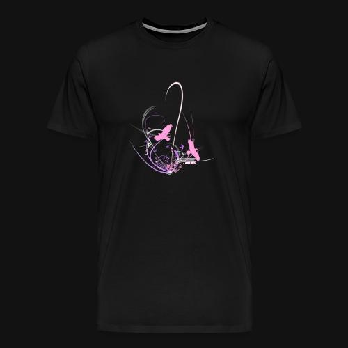 Birds n Butterflies - Männer Premium T-Shirt
