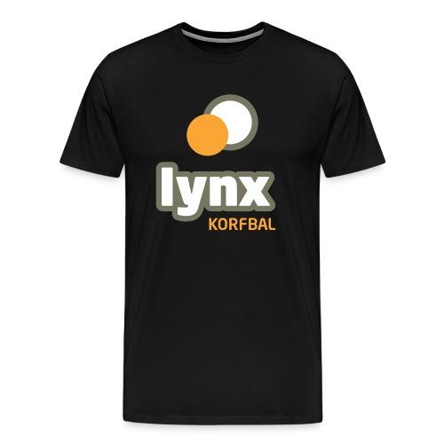 lynx logoPMS - Mannen Premium T-shirt