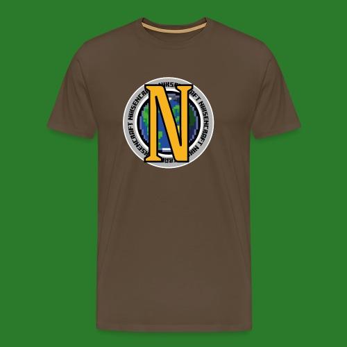 nikzencraft logo - Herre premium T-shirt