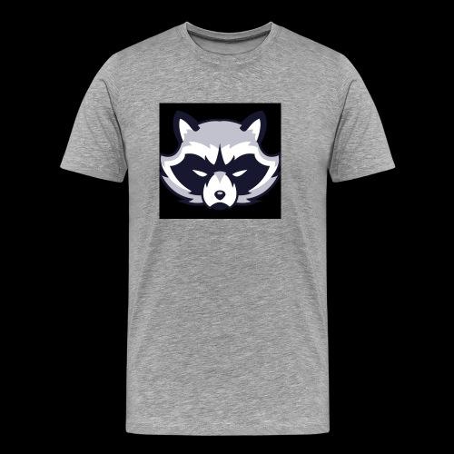 WaschbeerKopf Logo :) - Männer Premium T-Shirt