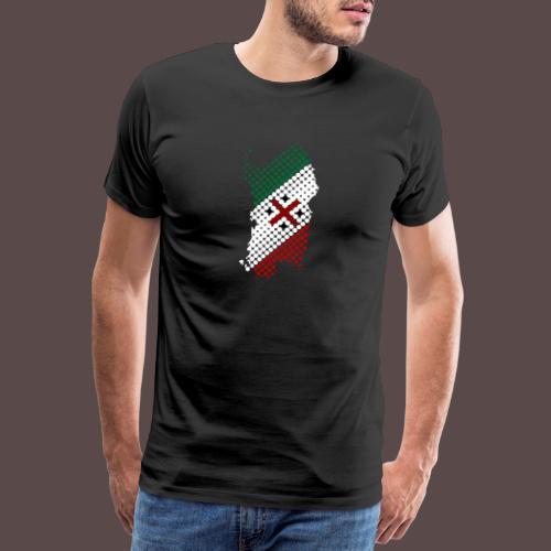 Sardegna Sfere - Maglietta Premium da uomo