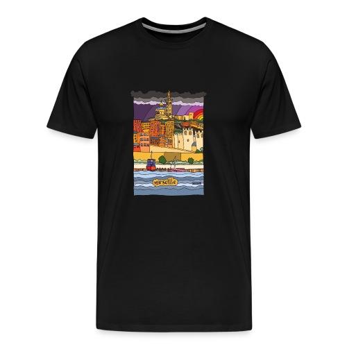 Marseille mon amour - T-shirt Premium Homme