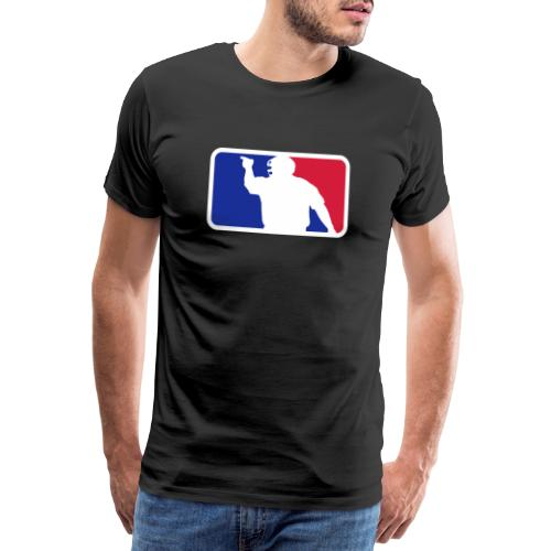 Baseball Umpire Logo - Men's Premium T-Shirt