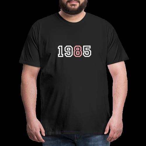 1985 - Camiseta premium hombre