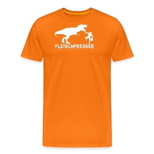 fleischfresser weiss - Männer Premium T-Shirt
