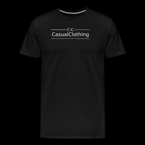 CC created in Sweden 2016 - Premium-T-shirt herr