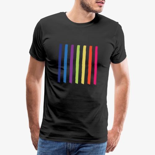 Linee - Maglietta Premium da uomo