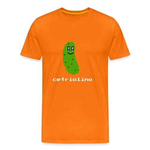 8-bit Pickle (Dark T-Shirt) - Maglietta Premium da uomo