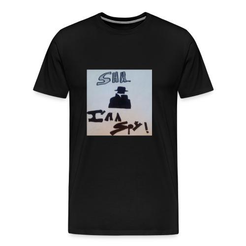 Shhhhhhh... Im a spy - Men's Premium T-Shirt