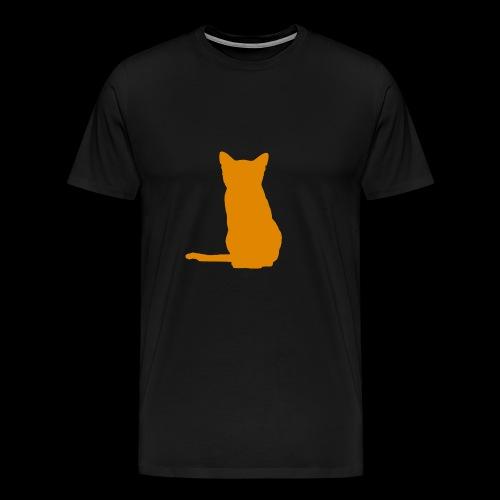 Peach Cat - Men's Premium T-Shirt