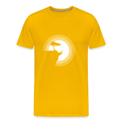 La pleine lune - T-shirt Premium Homme