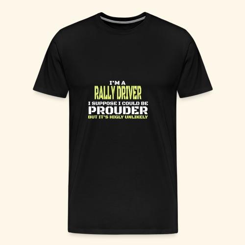 RALLY - Maglietta Premium da uomo
