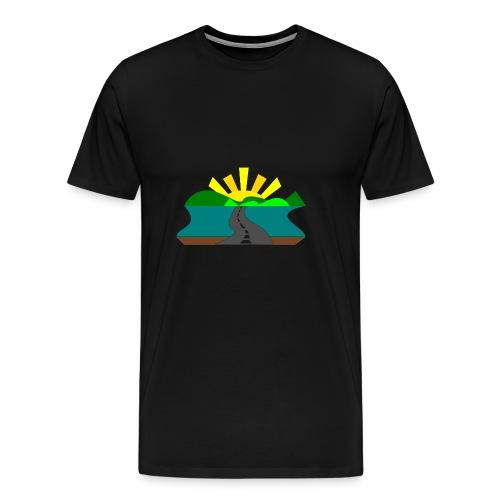 land - Camiseta premium hombre