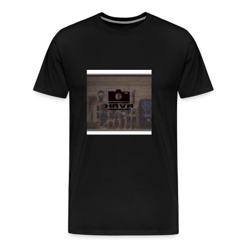 HAVA banner - Premium-T-shirt herr