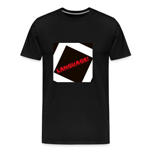 Language - Men's Premium T-Shirt