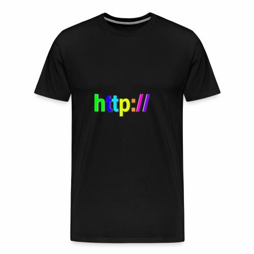 T-SHIRT Potocollo HTTP - Maglietta Premium da uomo