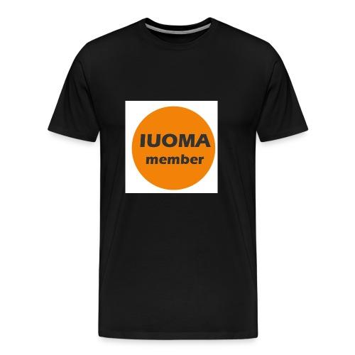 IUOMA Member - Mannen Premium T-shirt