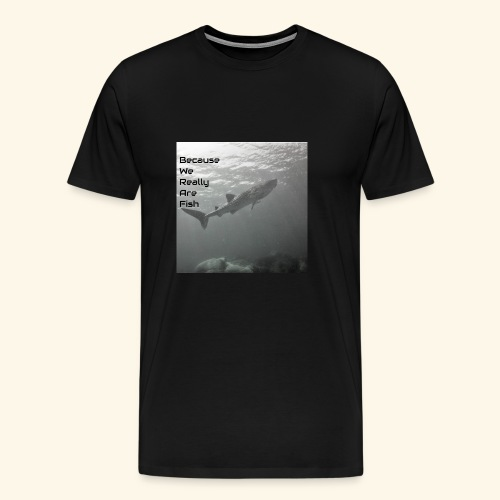 Buddy Check Whale Shark - Men's Premium T-Shirt