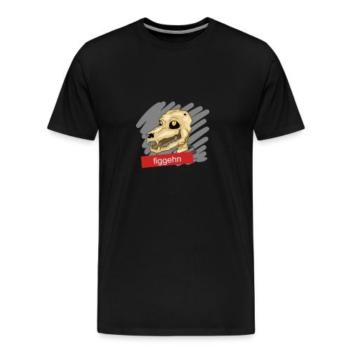 klaracollection-hundfigge - Premium-T-shirt herr